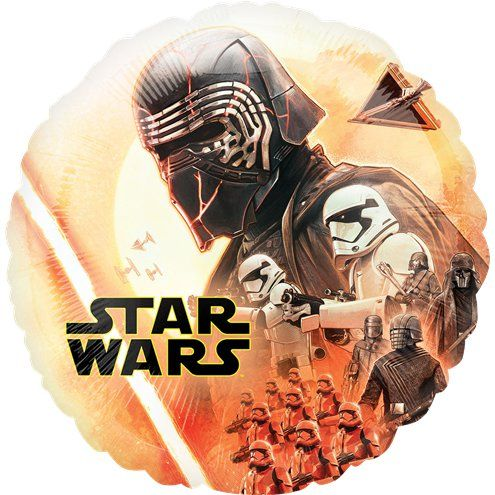 "Balloon: 18"" Star Wars Rise of Skywalker Balloon - Sold deflated"