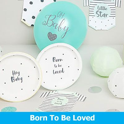 Born To Be Loved Party Supplies