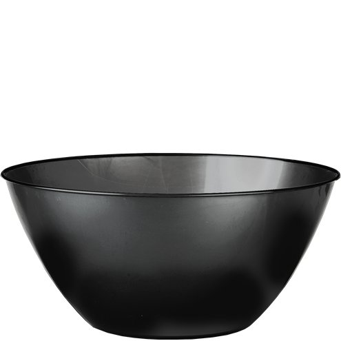 Bowl: Black Plastic Serving Bowl - 4.7L