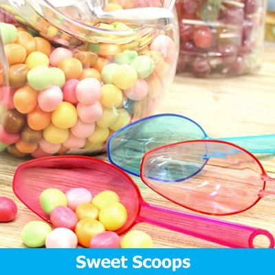 Candy Buffet Scoops & Utensils