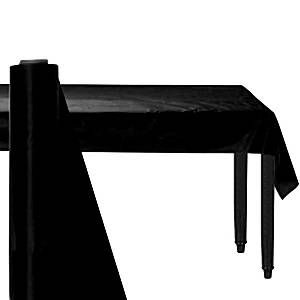 Catering: Black Plastic Table Roll 30m (100ft) (each)