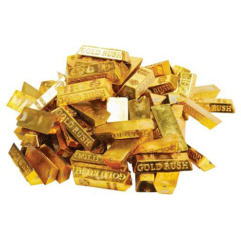 Confetti: Gold Bars Treasure Confetti x25pk