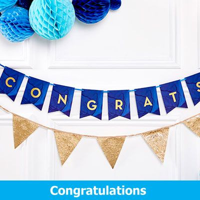 Congratulations Party Supplies
