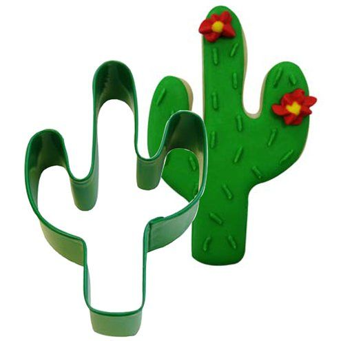 Cutter: Cactus Cookie Cutter