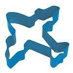 Cutters: Aeroplane Cookie or Biscuit Cutter