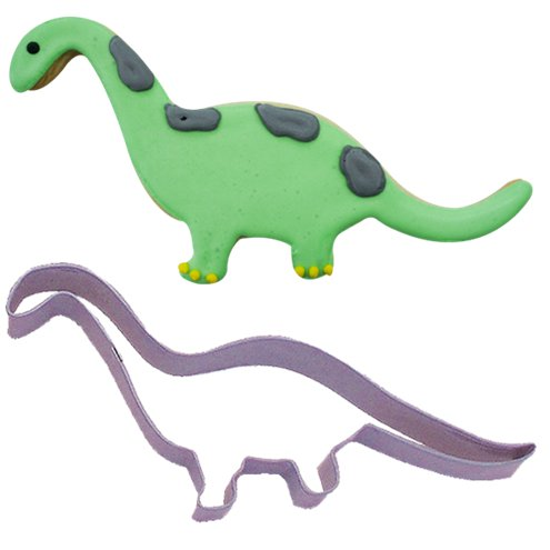 Cutters: Little Dino Brontosaurus Cookie or Biscuit Cutter