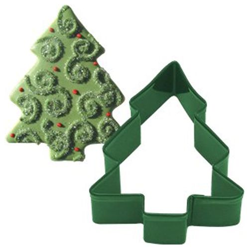 Cutters: Snow Covered Tree Cookie Cutter (each)