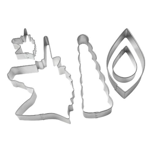 Cutters: Unicorn Cookie Cutter Decorating Kit