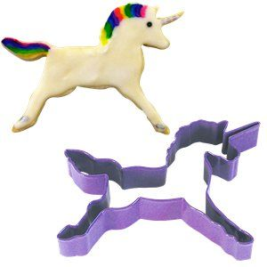 Cutters: Unicorn Cookie or Biscuit Cutter