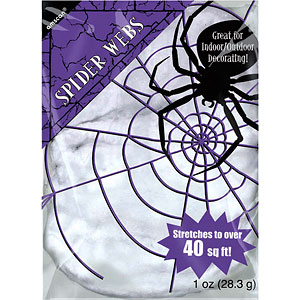 Decoration: Spiders Web - 40sq ft Halloween Decoration (28g)