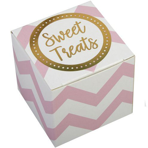 Favour Boxes: Pattern Works Pink Favour Boxes x10pk