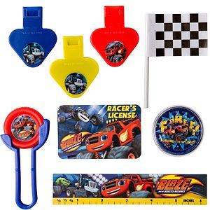 Favours: Blaze and the Monster Machines Favour Pack (48pk)