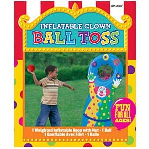 Game: Outdoor Games Inflatable Ball Toss Game