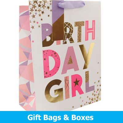 Gift Bags & Boxes