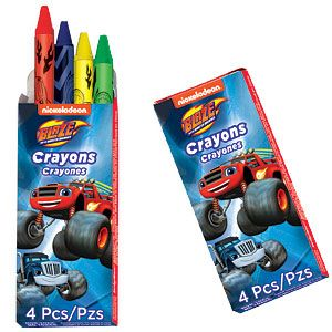 Gift: Blaze and the Monster Machines Crayon Packs (12pk)