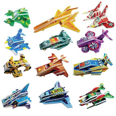 Gift: Spaceship Puzzle Assorted x8pk