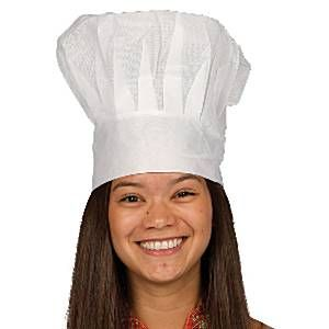 Hat: Disposable Chef Hat (each)