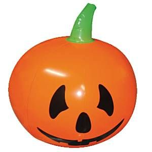 Inflatable: Halloween Decoration Inflatable Pumpkin - 1.1m (each)