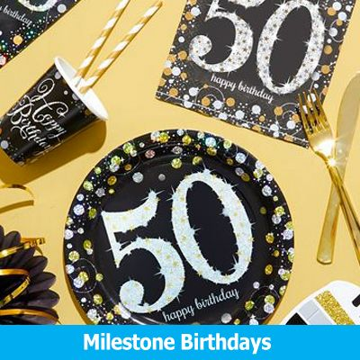 Milestone Birthdays