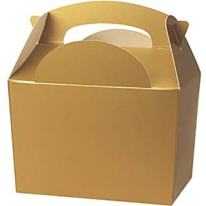 Party Box:  Gold Party Boxes (each)