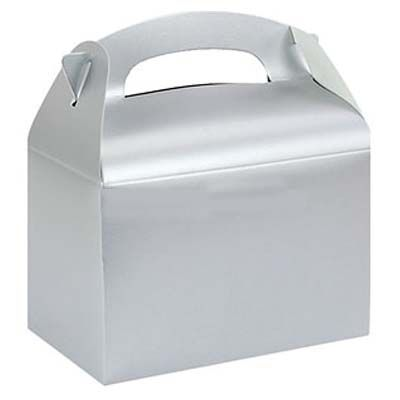 Party Box: Silver Party Boxes (each)