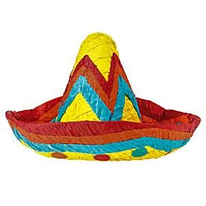 Pinata: Bright Coloured Sombrero Piñata