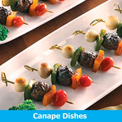 Plastic Canape Dishes