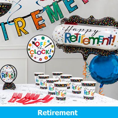 Retirement Party Supplies