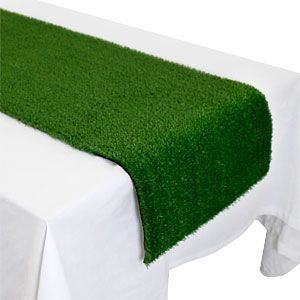 Tablecloth: Grass Table Runner - 1.5m