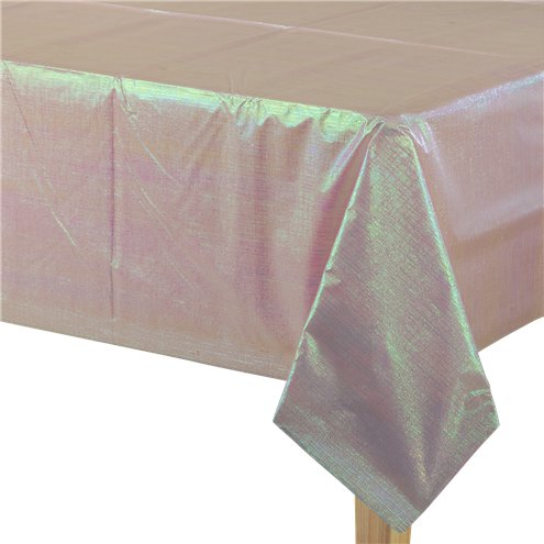 Tablecloth: Pink Dazzling Paper Tablecover - 1.3m x 2.7m